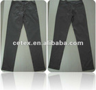 2012 fashionable ladies cotton/spandex straight pants, style no. relieur
