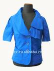 lladies linen/cotton/spandex slim jacket, style no. J-275