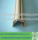 plastic strip for auto goods shelf