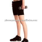 hot sell polyamide elastane women's fitness short pants with coolmax gusset