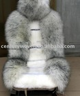 grey australian sheepskin fur car seat covers