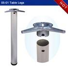 Steel table legs