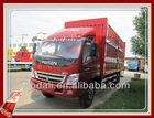 Top quality Famous Foton cargo truck of 8 tons