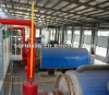 newest environment friendly waste tire & plastic pyrolysis to fuel oil machine
