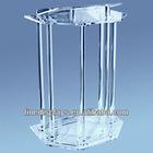 Acrylic Lectern Round Column Style (AL-A-0169)