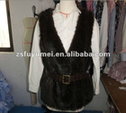 winter fur vest for women