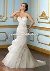 Luxurious Silver Crystal Wedding Dress 01564