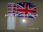 promotional PE hand flag