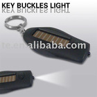SL350 Solar Power Flashlight w/Key Chain