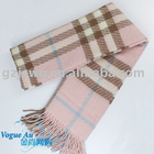2011 Classical checked scarf Winter scarf 100% Wool
