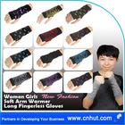 New Fashion Women Girls Soft Arm Warmer Short Fingerless Gloves