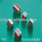 1022 European VDE or UL pcb screw terminal blocks