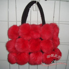 beautifur design, elegant shape rex rabbit fur bags BR03