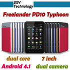 Freelander PD10 Typhoon 7'' IPS Screen Bluetooth Dual Camera Built in 3G Android 4.0 Dual Core GPS Tablet PC