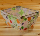 color PP vegetable holder/ fruit holder/ fruit box/