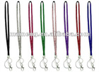 Bling lanyard for key chain and ID card holder