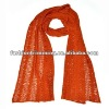 Hollow cheap knitted scarves
