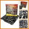 Snuggie Fleece Cozy Blanket with Sleeves and Pockets