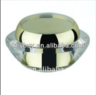 UFO Shape Acrylic Cosmetics Cream Jar