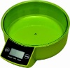 AS606B Touch digital kitchen scale measuring liquid