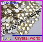 flat back rhinestone DIY nailart decoration crystal ss12 Jonquil