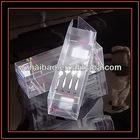 clear PVC tool box