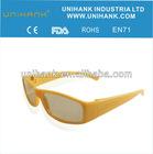 Ergonomics high quality yellow lens customized frame night driving glasses anti-dazzle,anti-vetigo for kids