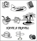 perfect effect travel set clear stamps