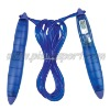 Electronic count jump rope
