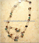 New product Beads circle necklace
