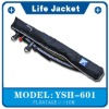 Waist type inflatable life jacket