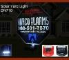 Security sign or landscaping Solar Led Sensor Light DN710