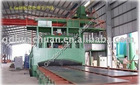 Vertical Steel Plate sand blasting machine