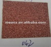 Decorative shining dull polish self adhesive color glitter paper