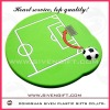 football pvc coaster for home decoration
