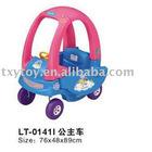 Children plastic car