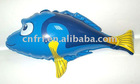 Inflatable fish toy