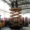 battery powered scissor lift platform