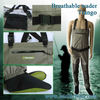 Premium fly fishing breathable wader Trango