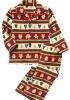 Girl's polar fleece underwear set