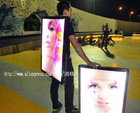 Jd1-961 High quality full color Innovated advertising backpack banner
