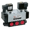 K35HD2, K Series three position five way electric control directional valve
