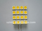 G4 Auto LED Light 16pcs smd 5050