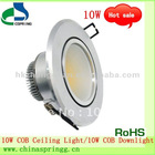Hot sale High-efficiency energy-saving 10W COB LED Ceiling Light/COB LED Downlight with CE&RoHS