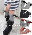 Busha Young Girls' Spring FashionTube Socks Princess Bow socks