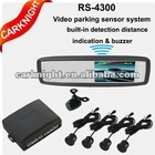 4.3 inch universal video parking sensor system