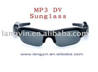 New design TF card MP3 Video and Audio and HD DV Sunglass