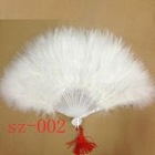 hot sale new DIY feather fans flexible thicken colorful