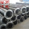 rubber lined carbon steel anticorrosion sewage pipe