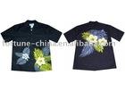 sell stock men's printed shirt